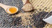 خواص کنجد ، و عسل سیاه و سفید و بو داده برای مو و بارداری و کودکان و لاغری